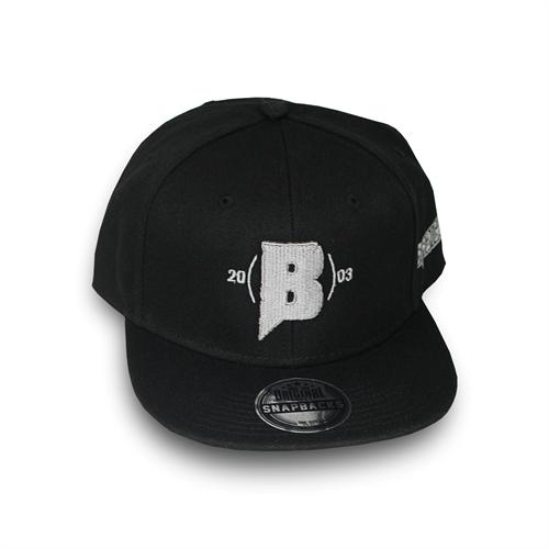 Brdigung - Logo-B, Snapback Cap